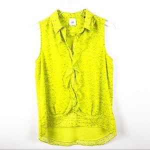 CABI | Reign Chartreuse Blouse
